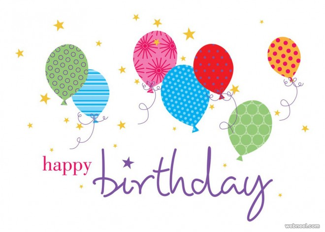 beautiful happy birthday greetings card design examples  part, Birthday card