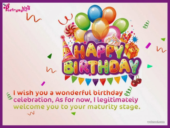 50 Beautiful Happy Birthday Greetings card design examples Part 2 – Birthdays Greetings
