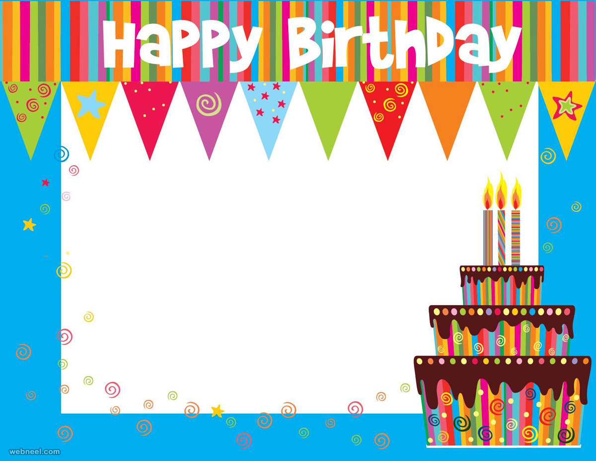 birthday cards background