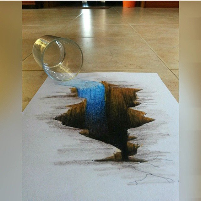 50 Beautiful 3D Drawings