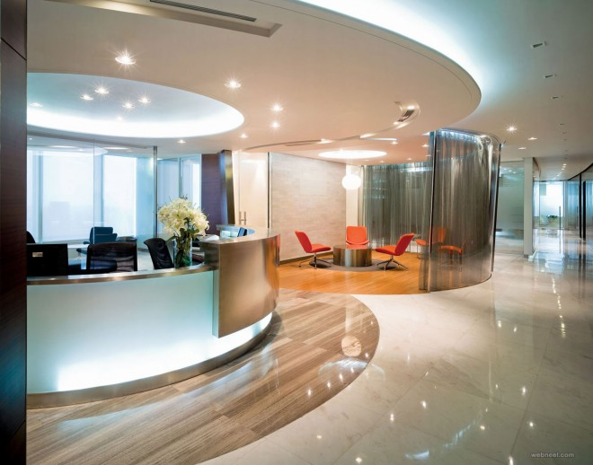 office design modern office design colorful reception modern office