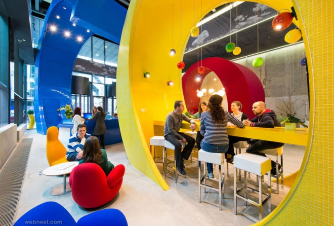 google modern office design idea