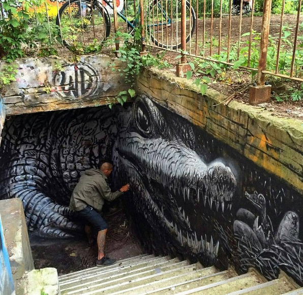 3d Street Art by wd