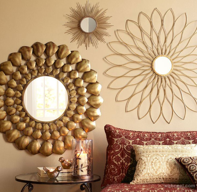 wall decor art mirror