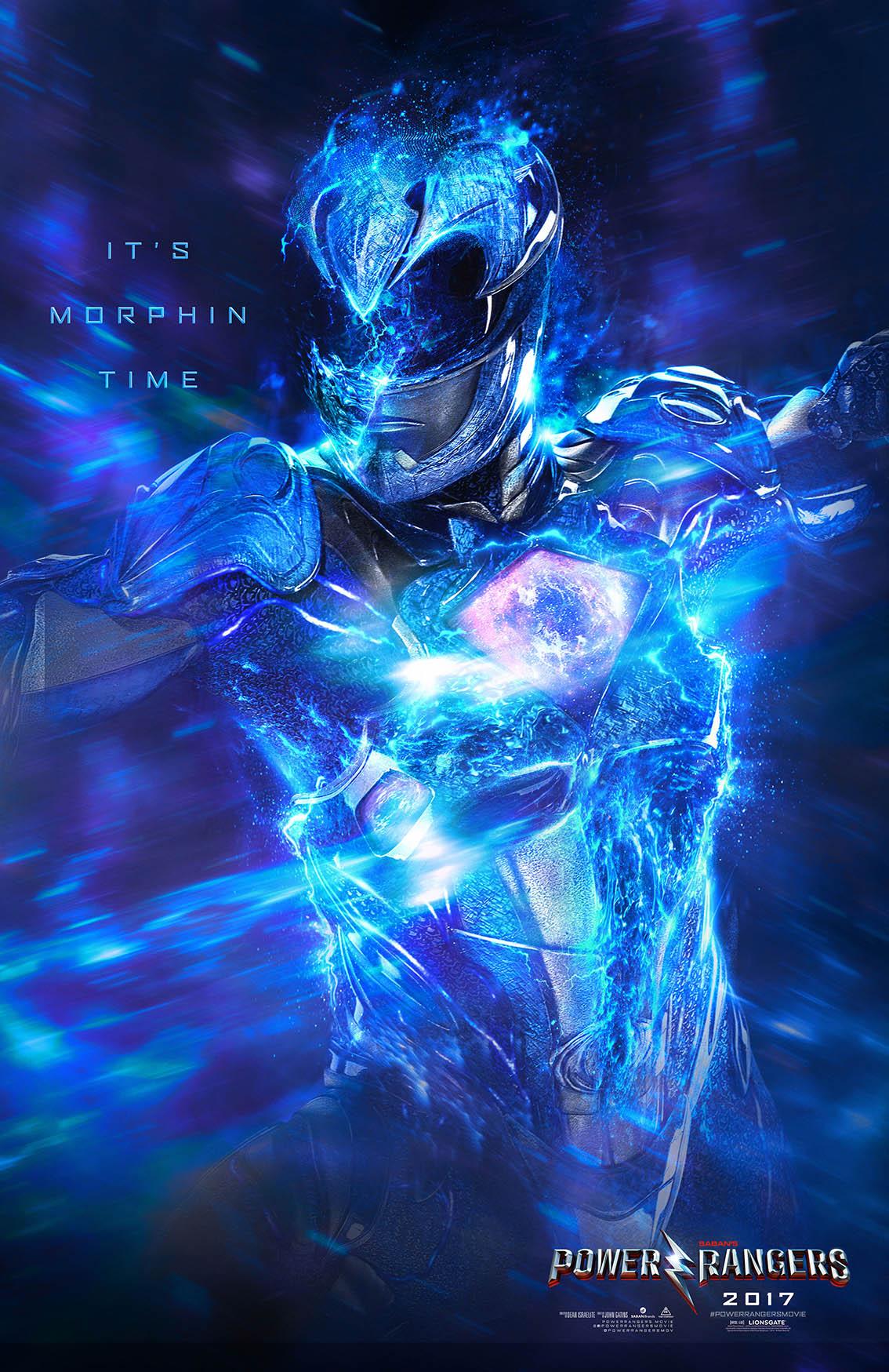 poster designs photoshop power rangers