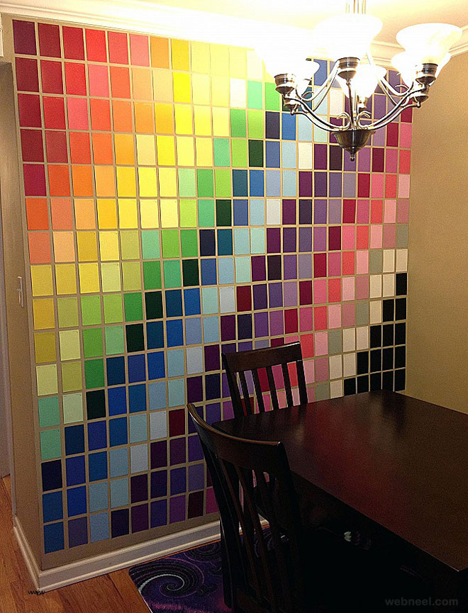 wall art ideas colors