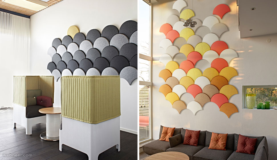 wall art idea decoration colorful