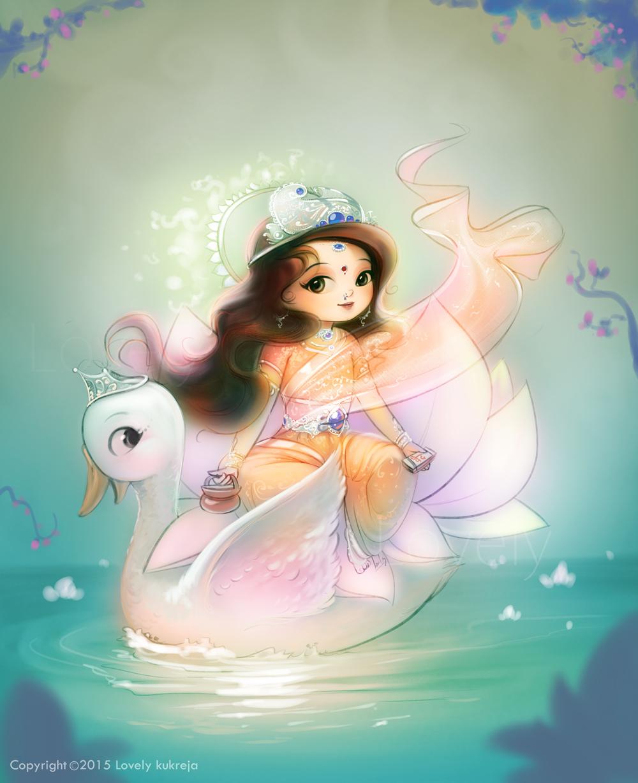 digital art illustration gayatri