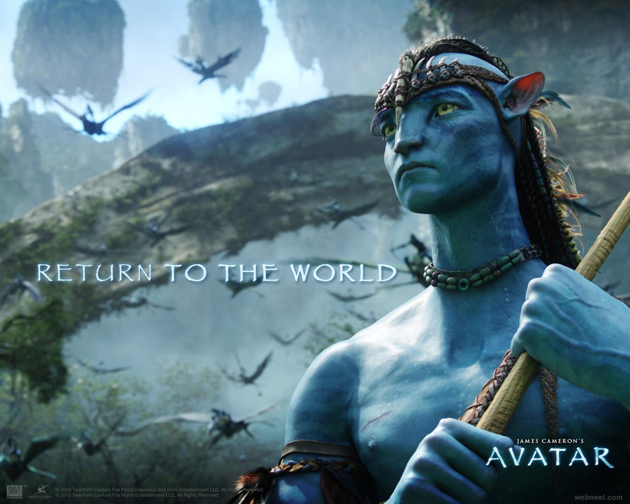 avatar animation movie wallpaper 10 - full image