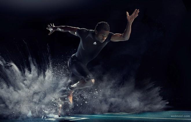 creative sports photography