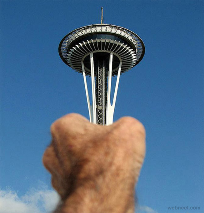 forced perspective photos
