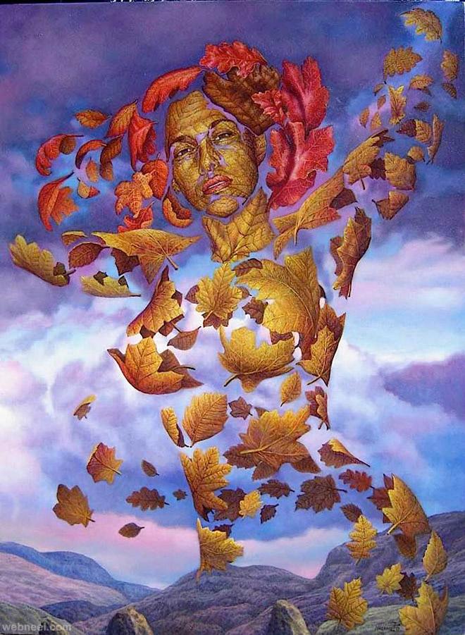 surreal artworks by ignacio nazabal