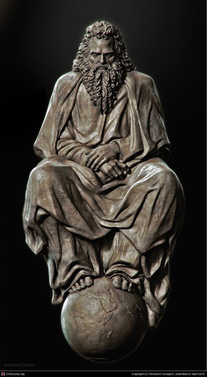 statue cg
