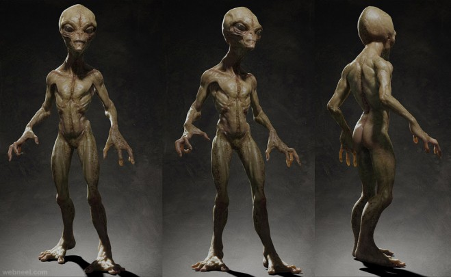 cg alien