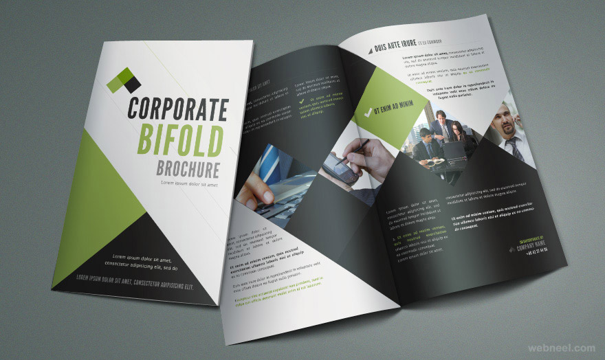 Famoso bifold brochure design 20 - preview HO23