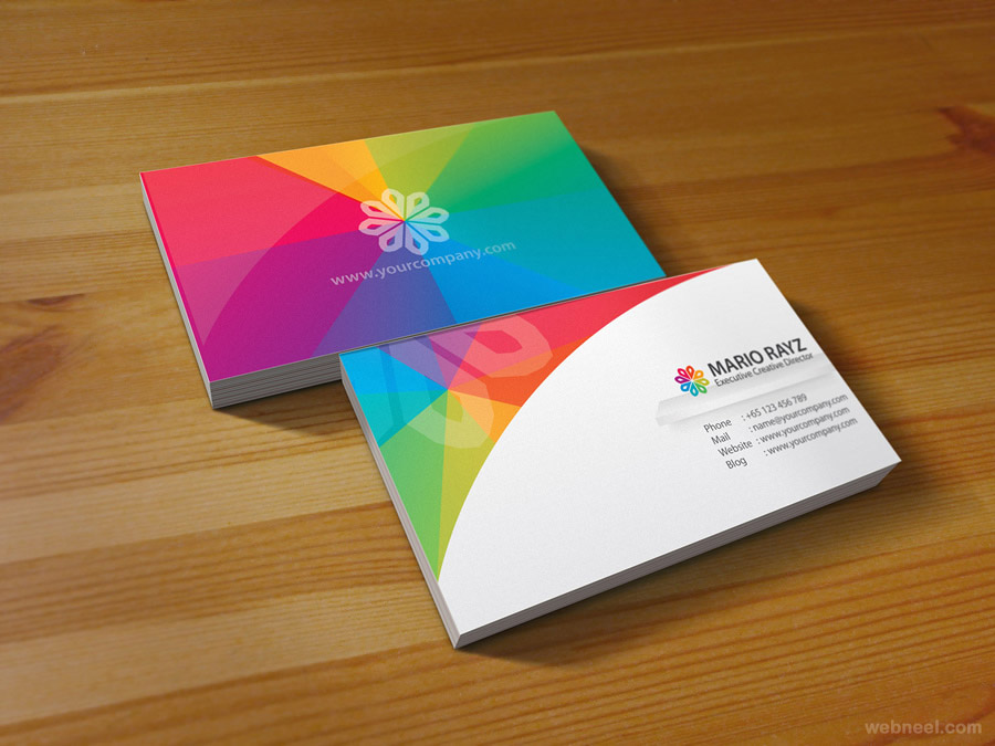 56 business card design inspiration for saudi business image source colourmoves
