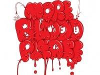 22-blood-typography-design