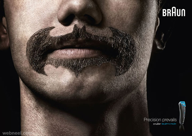 braun beard saloon creative advertising