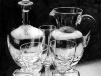 28-glass-bottle-realistic-pencil-drawing-by-rosaria-battiloro