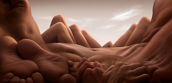 body landscapes photography