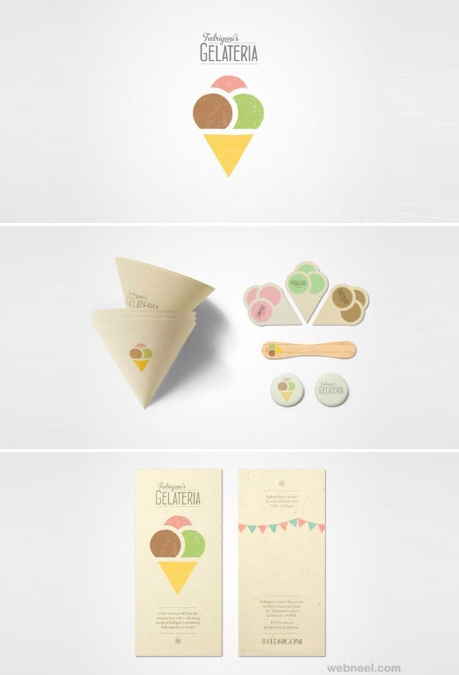 ice cream best branding design