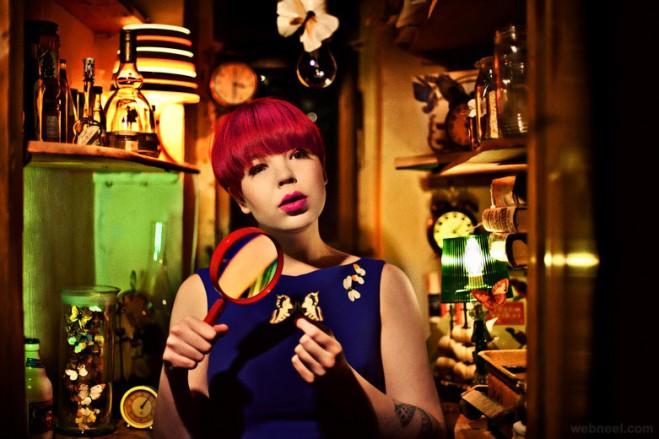 colorful fashion photography