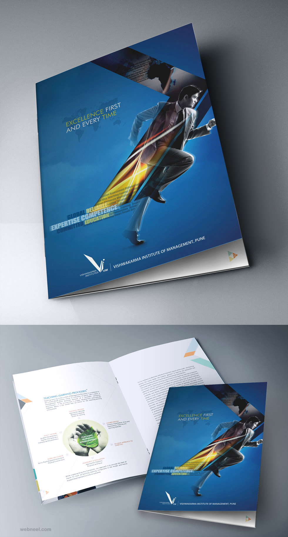 Corporate brochure design 7 full image for Interesting brochure designs
