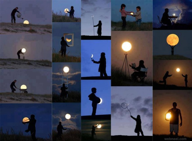 moon   forced perfect time photography