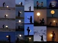 Moon - Forced Perfect time photography