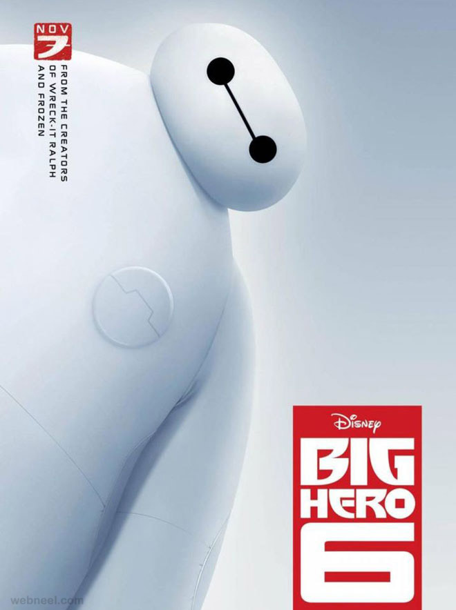 big hero movie poster