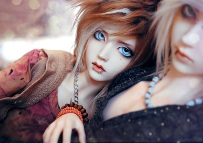 still life photography dolls