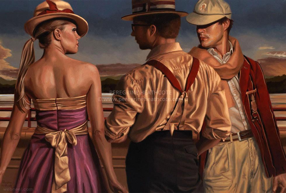 oil paintings peregrine