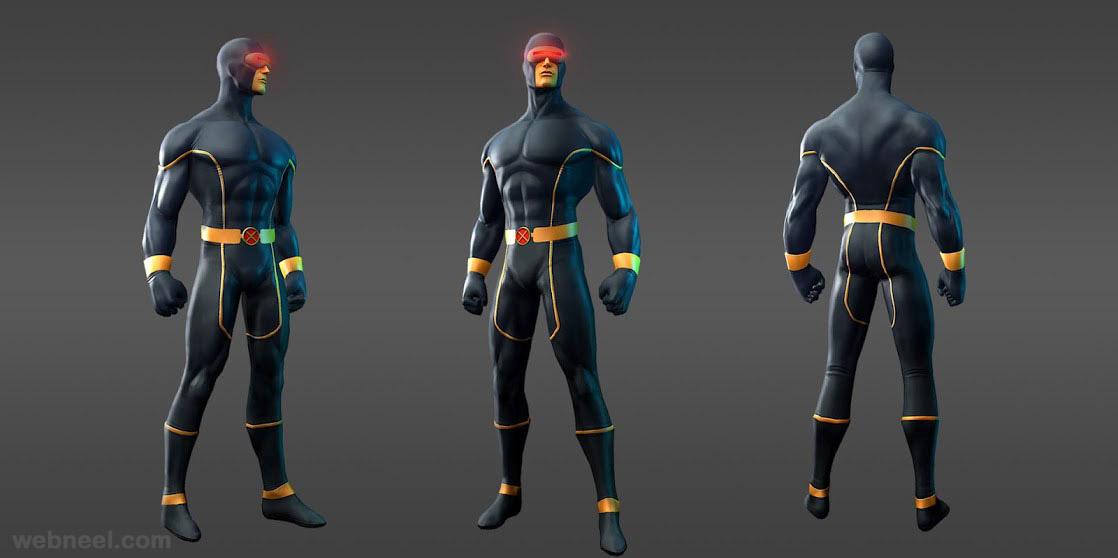 marvel heroes cyclops astonishing xmen