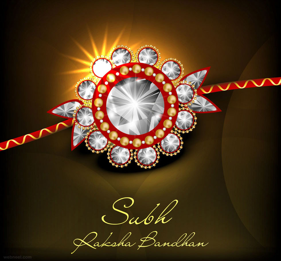 happy raksha bandhan design
