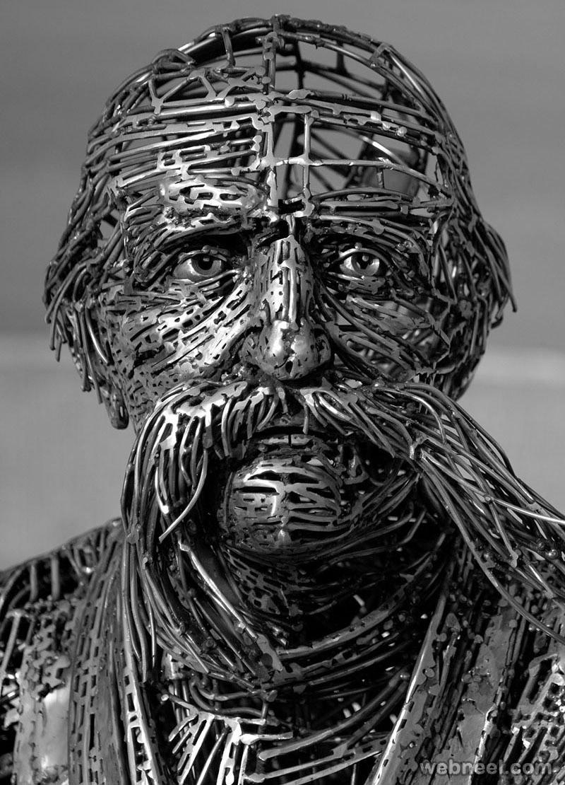 metal sculpture welding