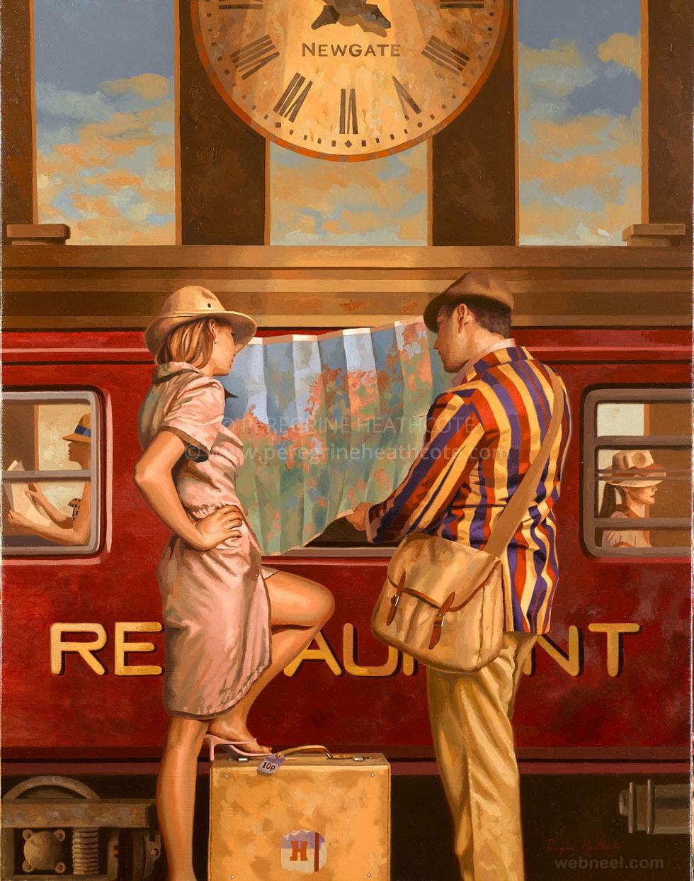 classic oil paintings peregrine