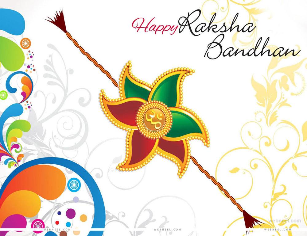 Unusual image throughout raksha bandhan printable cards