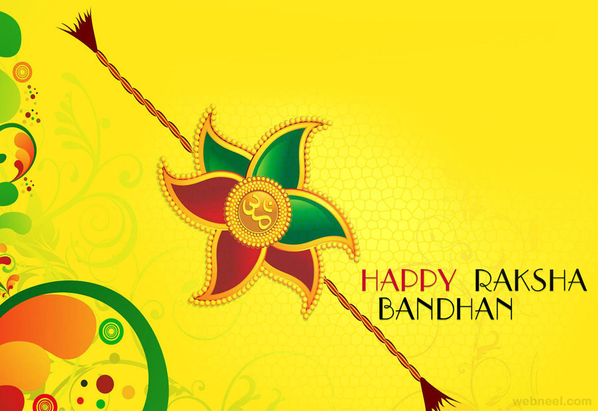 Happy Rakhi HD Wallpapers for free download