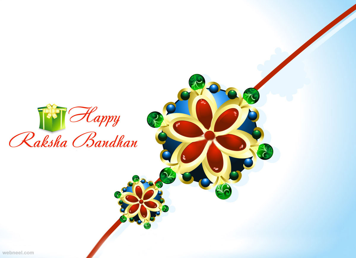 40 Beautiful Raksha Bandhan Greetings Cards And Wallpapers