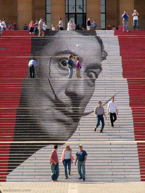 staircase art