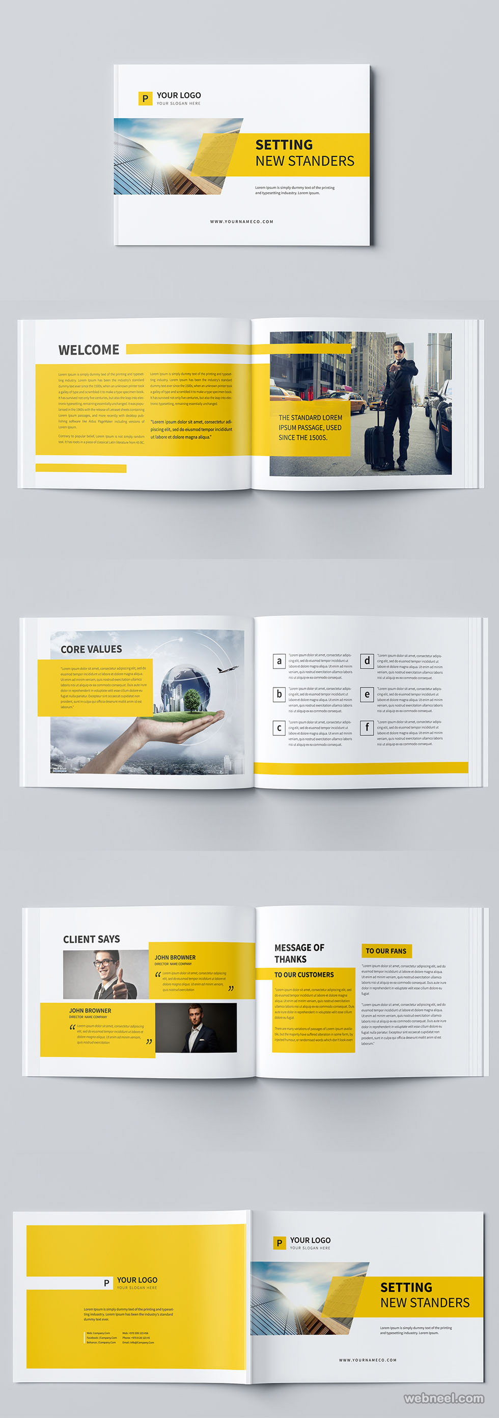 brochure design by mohammed gharabli