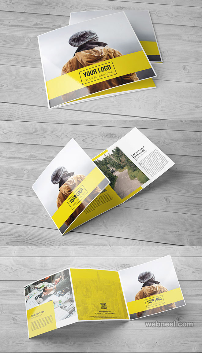 brochure design by francesco vittorioso creative brochure design ideas