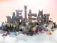 14-3d-typography-design-castle