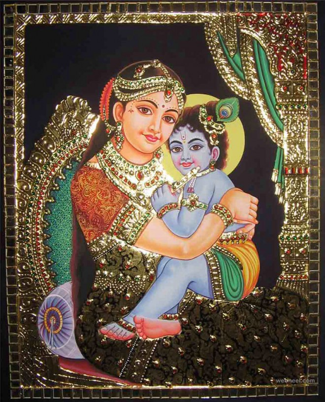 25 Beautiful Tanjore Paintings - Traditional Indian Paintings
