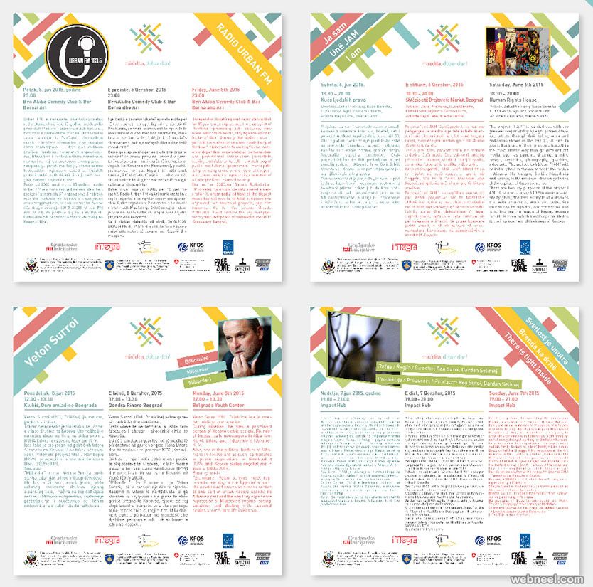 brochure design by dework