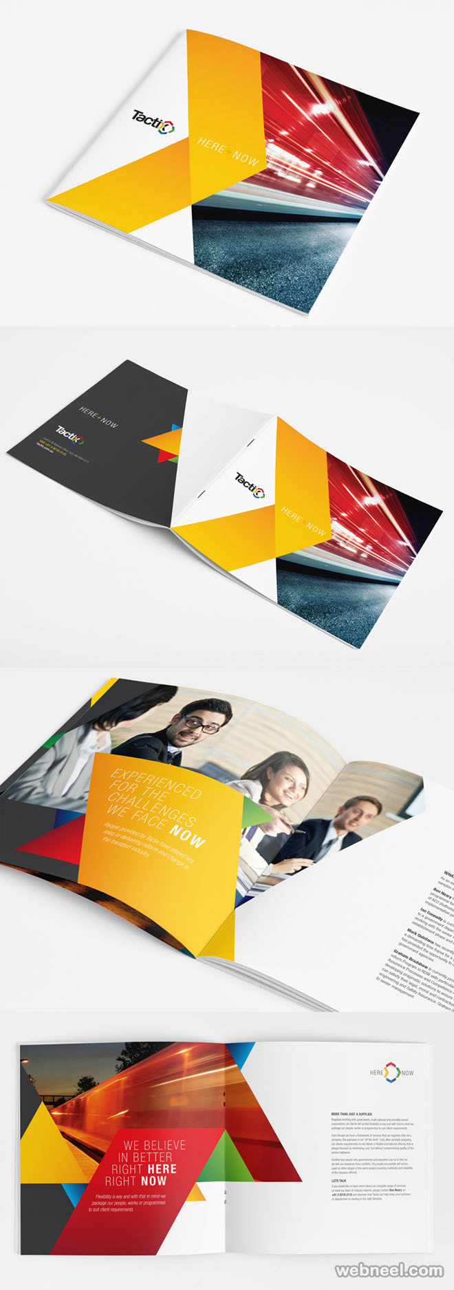 26 best and creative brochure design ideas for your for Interesting brochure designs