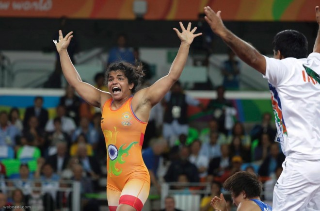 sakshi malik wins india medal best rio olympic photography