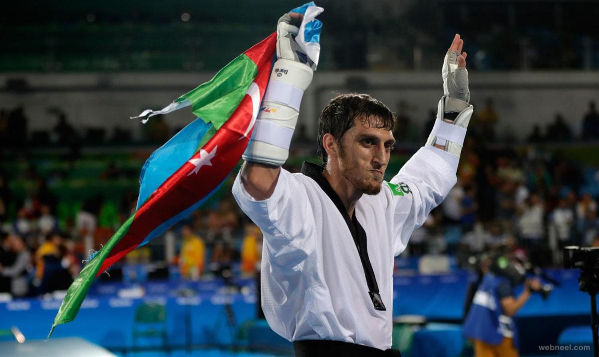 taekwondo medalist best rio olympic photography