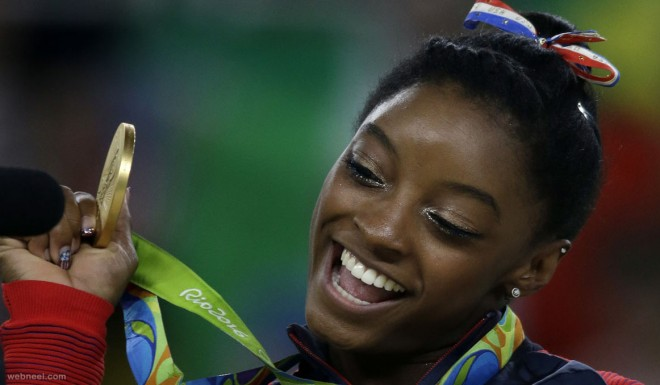 simone biles gold medalist best rio olympic photography