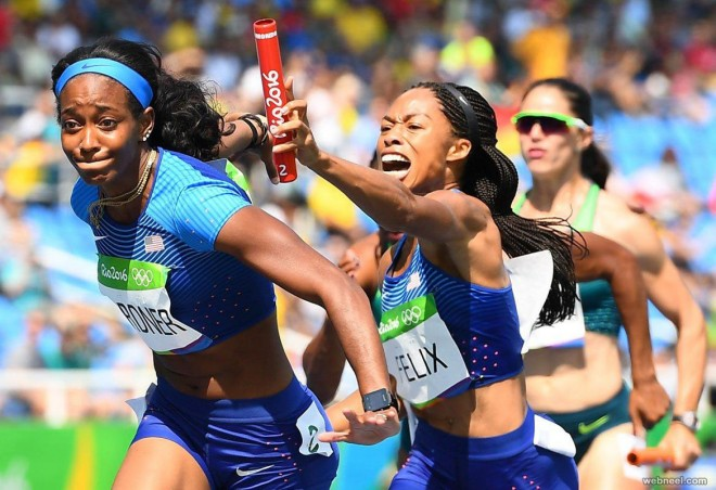 allyson felix best rio olympic photography